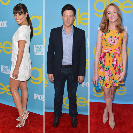 The Cast of Glee Gathers For a Screening and Presentation in LA