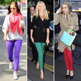 See How Celebs Wear Their Colored Jeans — Jessica Alba's Not the Only One Obsessed!
