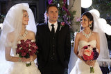 Jaime King as Lemon, Scott Porter as George, and Rachel Bilson as Zoe on Hart of Dixie. Photo courtesy of The CW