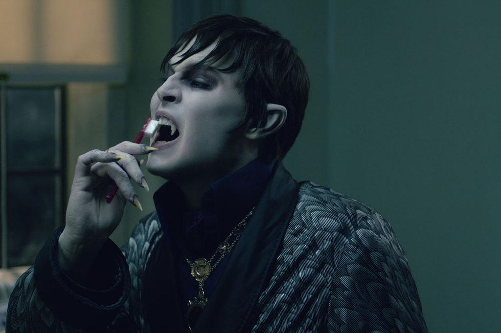 Johnny Depp as Barnabus Collins in Dark Shadows.  Photo courtesy of Warner Bros.