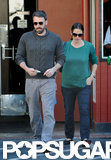 Ben Affleck and Jennifer Garner ran errands together in LA.
