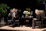 George Clooney was interviewed by Lynn Wyatt in Houston.