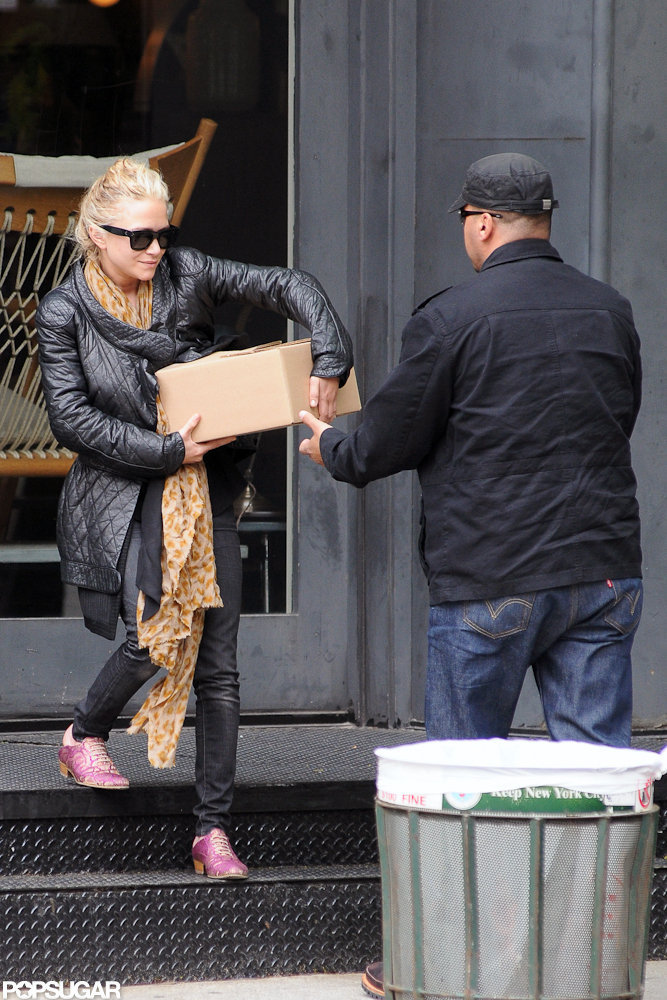 Mary-Kate Olsen was out and about in NYC for a shopping trip.