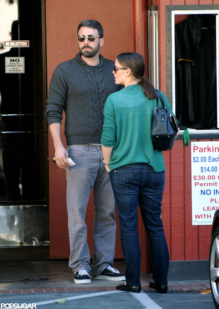 Jennifer Garner and Ben Affleck spend the afternoon running errands together in LA.