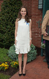Natalie Portman showed her support at the Audrey Hepburn Children's House in New Jersey.