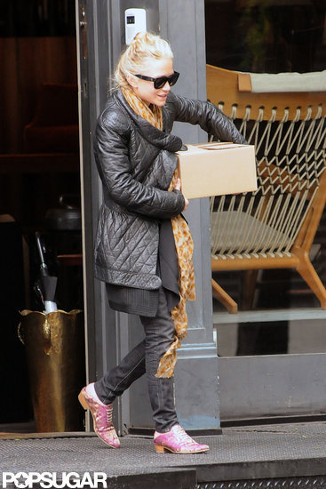 Mary-Kate Olsen Shows Her Unique Style on a Solo Shopping Trip in NYC