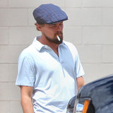 Leonardo DiCaprio smoked in New Orleans.