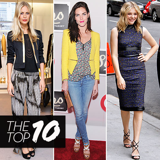 Fab's Top 10 Celebrity Looks of the Week — Poppy, Hilary, Chloe, and More!