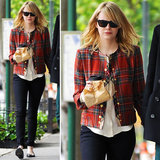 Love Emma Stone's plaid jacket? Get the exact same one.