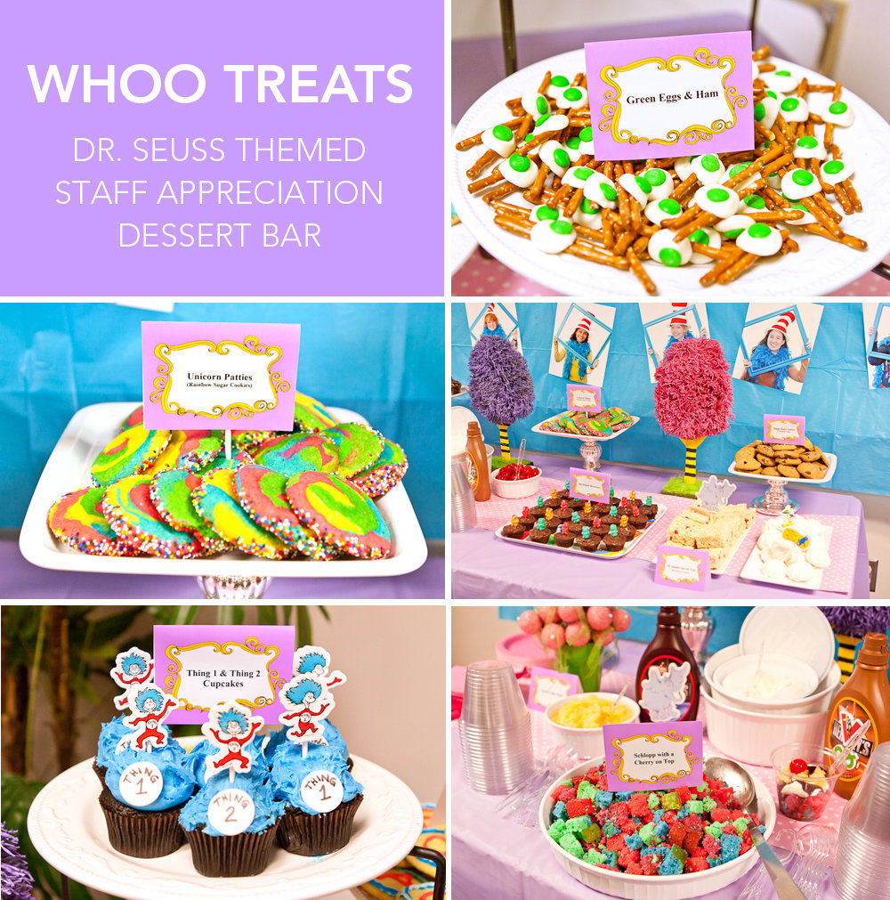 "Friday: ""Whoo Treats"" Dessert Bar"