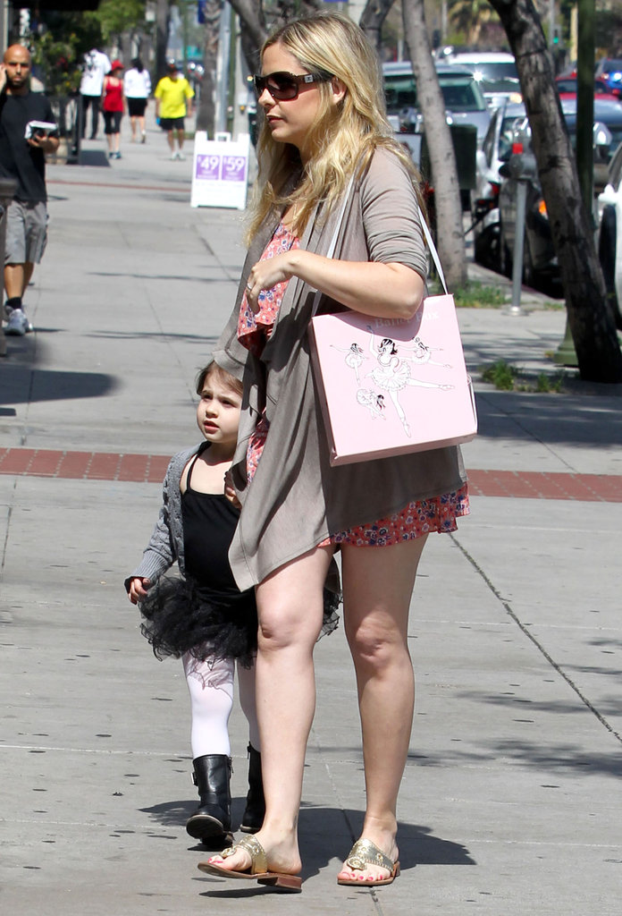 Sarah Michelle Gellar was out and about with Charlotte on the way to a ballet class in LA.