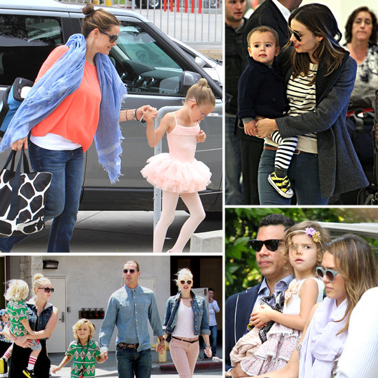 See How the Stars Spent Mother's Day