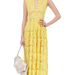 Foley + Corinna vintage yellow crochet maxi dress ($225)