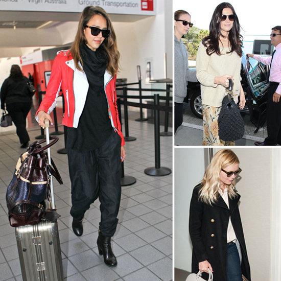 Check Out This Weekend's Most Fashionable Celebrity Travel Outfits!