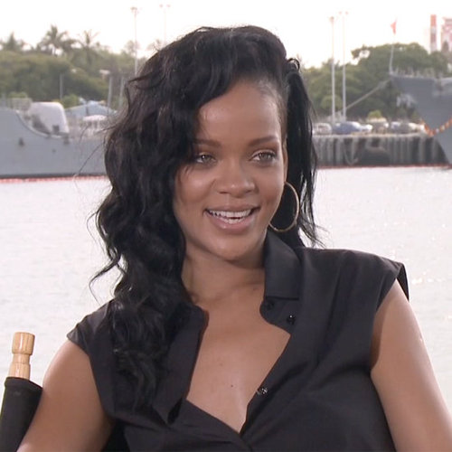 Rihanna on Saturday Night Live and Talking Movies (Video)