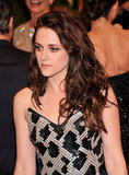 Kristen Stewart donned Balenciaga to the Met Gala 2012.