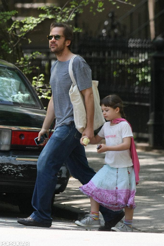 Maggie Gyllenhaal and Peter Sarsgaard Show Baby Gloria Their Brooklyn Hood