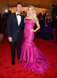 Julianne Hough Goes Bright at the Met Gala With Ryan by Her Side