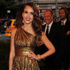 Jessica Alba in Metallic Michael Kors at 2012 Met Gala