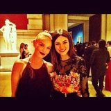 Kate Bosworth and Victoria Justice took a moment to take a picture. Source: Instagram User victoriajustice