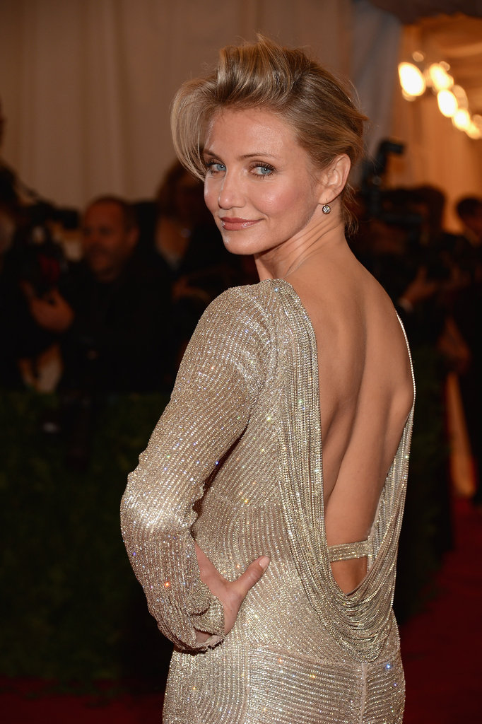 Cameron Diaz's Stella McCartney dress.