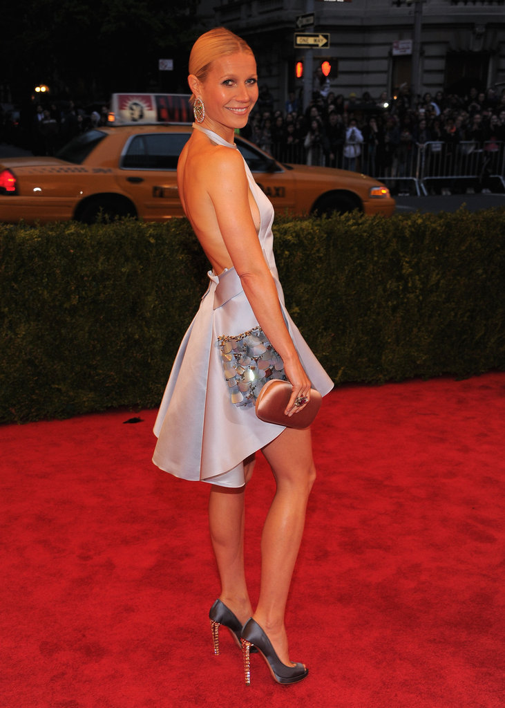 Gwyneth Paltrow's Prada dress.