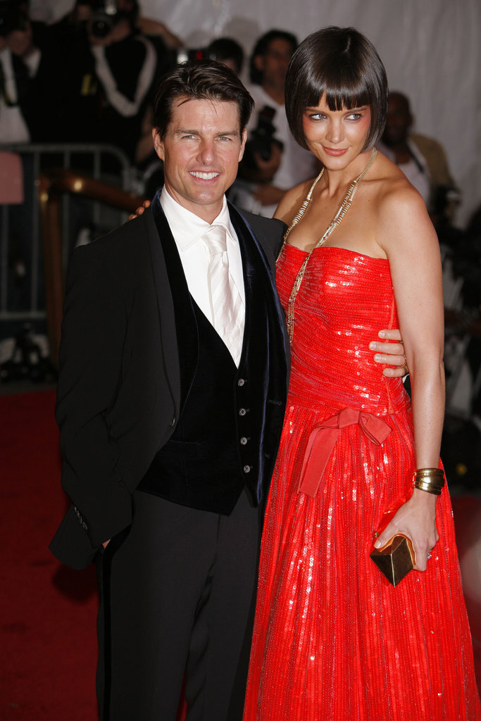Tom Cruise and Katie Holmes in 2008