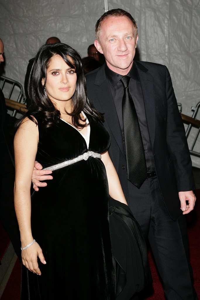 Salma Hayek and Francois-Henri Pinault in 2007