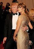 Donald and Melania Trump in 2011