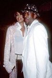 Whitney Houston and Bobby Brown in 1999