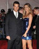 Tom Brady and Gisele Bundchen in 2009
