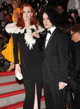 Karen Elson and Jack White in 2009