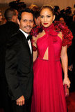 Marc Anthony and Jennifer Lopez in 2011