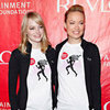 Emma Stone and Olivia Wilde Pictures at Revlon Walk For Women Event in NYC
