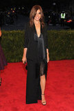 Carine Roitfeld is known for her love of basic black, but she chose a not-so-basic Givenchy Couture dress for the 2012 Met Gala.
