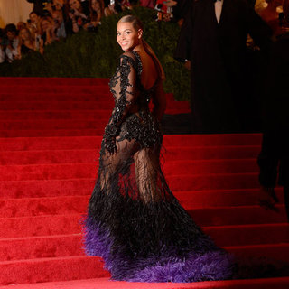 Beyonce at Met Gala Sheer Dress (Video)