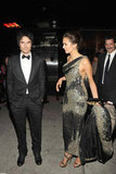 Hot Vampire Diaries duo Ian Somerhalder and Nina Dobrev met up for the Met Gala afterparties.