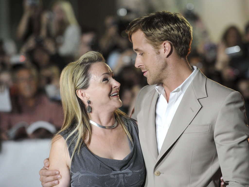 Ryan Gosling often brings his mom, Donna, as his date to red carpet events. The two shared a smile at the premiere of Ides of March in 2011.