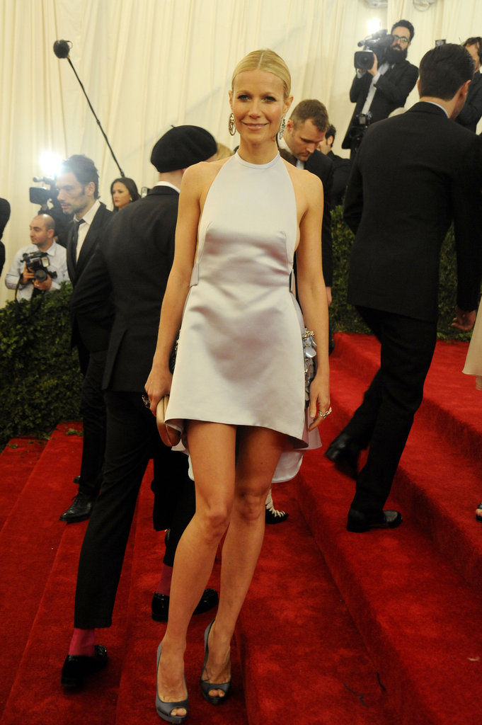 Gwyneth Paltrow Does the Met Gala Red Carpet in Prada