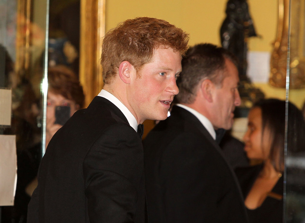 Prince Harry accepted the Distinguished Humanitarian Leadership Award in Washington DC.