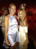 Gwyneth Paltrow towered over petite Rachel Zoe. Source: Twitter User RachelZoe