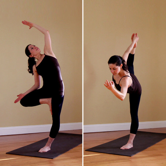 Which of these two balancing poses is your favorite?