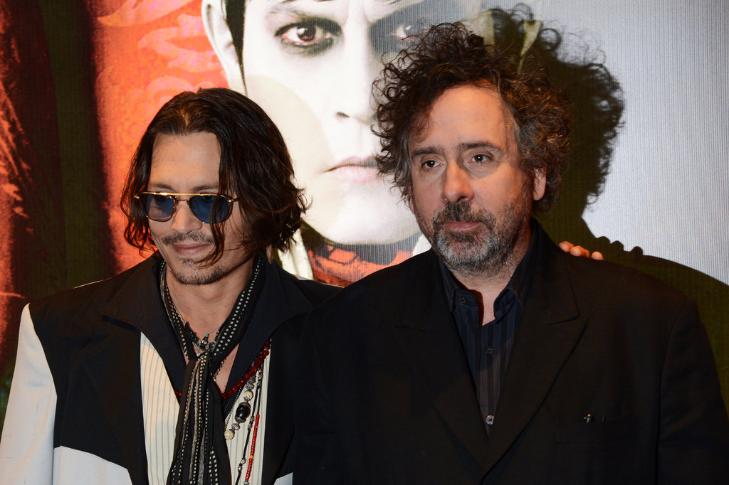 Johnny Depp posed with his longtime friend Tim Burton.