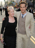 Ryan Reynolds brought his mom, Tammy, to the Hollywood premiere of The Proposal in June 2009.