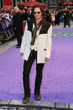 Johnny Depp posed at the Empire Leicester Square in London.