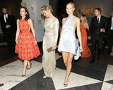 Gwyneth Paltrow, in Prada, walked with Stella McCartney-wearing Kristen Wiig and Cameron Diaz, with Dax Shepard and Kristen Bell bringing up the rear. Billy Farrell/BFAnyc.com