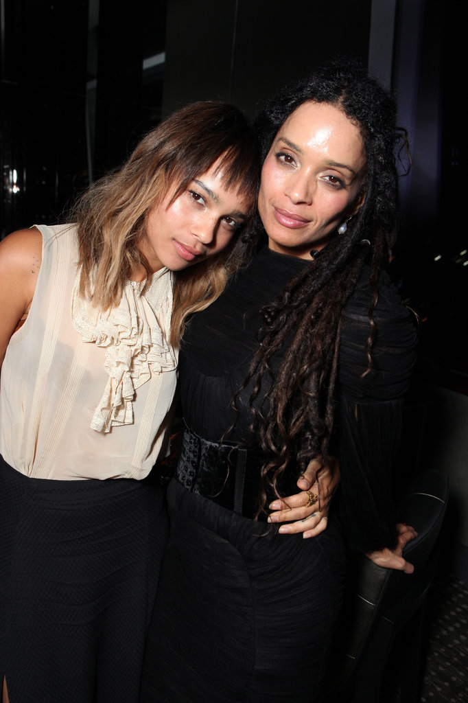 Zoe Kravitz shared a hug with her mom, Lisa Bonet, at the August 2011 LA premiere of Conan the Barbarian.