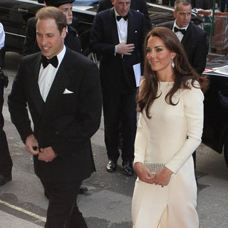 Kate Middleton Pictures at Claridges With Prince William