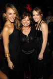 Hilary Duff and Haylie Duff attended the premiere of Material Girls in NYC with their mom, Susan, in August 2006.