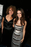 Rachel Bilson brought her mom, Janice, to The Last Kiss premiere in LA in September 2006.